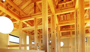 木組み創る健康住宅、吹き抜け囲炉裏、心安らぐ空間、家創り、6,29