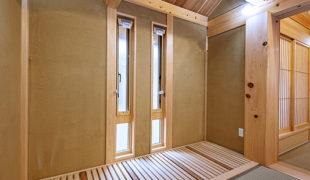 自然素材で創る健康木造住宅伝統工法、石場建て健康住宅、テレワーク対応住宅6,27