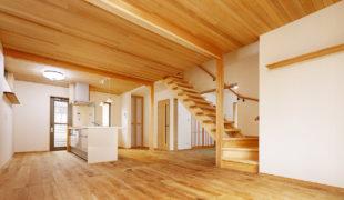 自然素材で創る健康木造住宅、手刻み木組み創るテレワーク対応住宅6,25