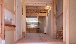 自然素材で創る、石場建て健康住宅、テレワークアトピー性対応、喘息効果6,12