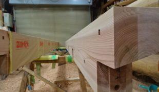 自然素材で創る健康住宅、手刻み木組み創るテレワーク対応住宅6,10