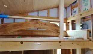 自然素材で創る、木の香り漂う心地良い空間創りのお家、アトピー性対応住宅6,23
