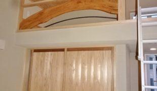 自然素材で創るコンパクトに凝縮されたお家 完成間近テレワーク対応住宅アトピー性対応7,27