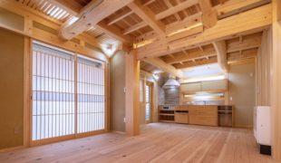 自然素材創る健康住宅、伝統工法で創り上げた石場建て健康住宅、8,22