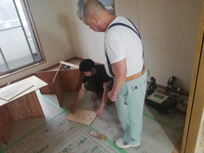 子育て世代家づくり 中古住宅を木装リフォーム