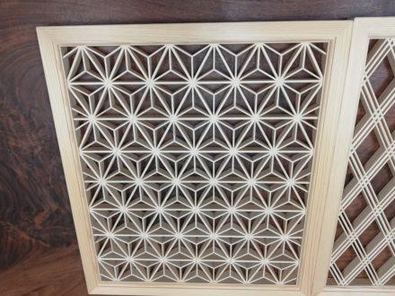 木工 伝統工法組子