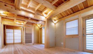 伝統工法、自然素材創る石場建て健康住宅、心安らぐ夢空間創り9,04