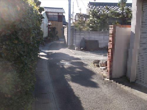 狭小道路は建築コストアップ