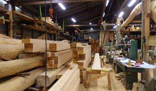 熟練大工が墨付け手刻み木組み創る健康、心地良い空間創り香る家、9,24