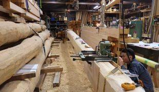 熟練職人、天然乾燥材創る手刻み木組み創る健康木造住宅9,29