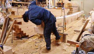 自然素材、熟練大工が墨付け手刻み木組み創る健康住宅、香る家、9,17