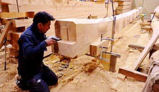 自然素材、熟練大工が地松梁を使ってのお家創り心地良い空間、香る家9,16
