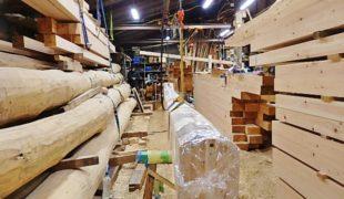 熟練大工が自然素材、赤松梁、ヒノキ無垢材、創る手刻み木組み創る健康木造住宅9,19