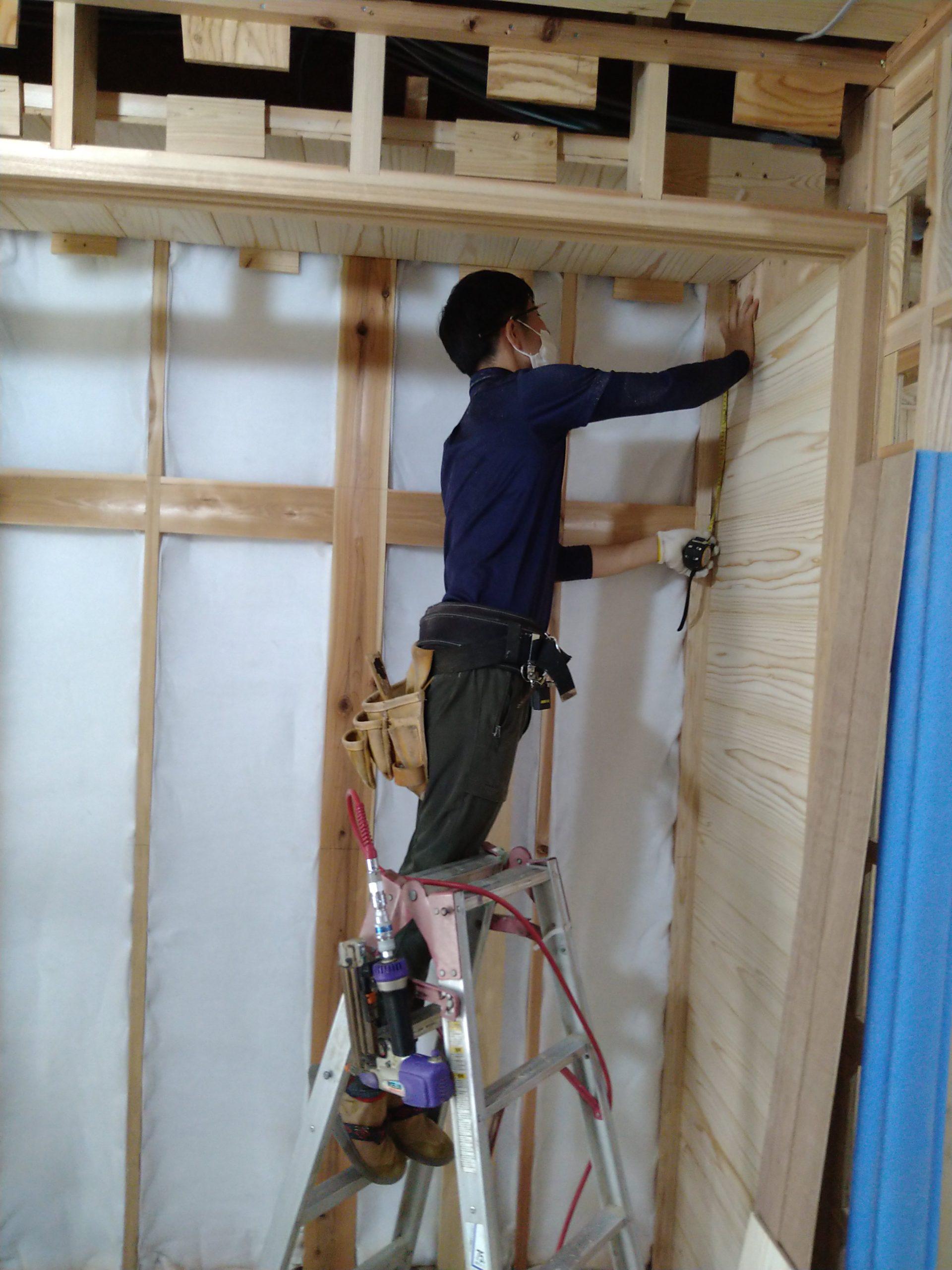 藤阪の家 押入れ造作