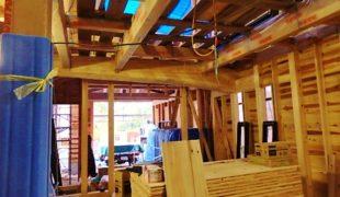熟練大工職人が自然素材、手刻み木組み創るテレワーク対応住宅アトピー性対応健康住宅9,20