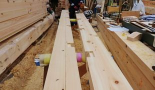 熟練大工職人が天然乾燥、自然素材創る健康住宅、深呼吸したくなる木の家10,02