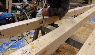 熟練大工職人が創る健康木造住宅手刻み木組みアトピー性皮膚炎喘息対応住宅10;05