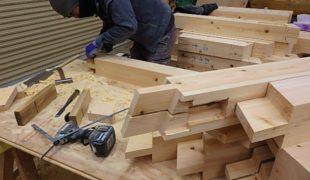 熟練大工職人が自然素材手刻み手加工創る健康木造住宅アトピー性皮膚炎10,07